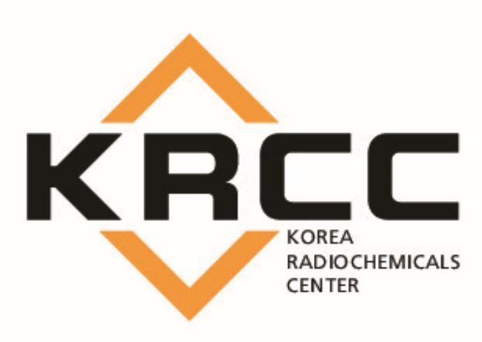Korea Radio chemicals center KRCC Logo
