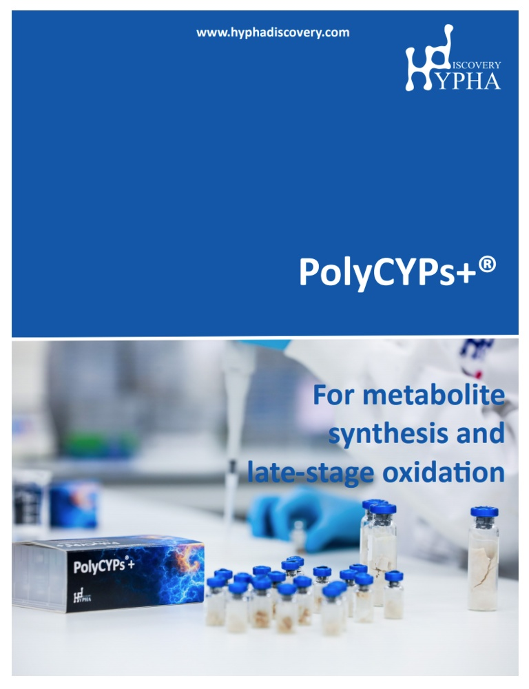 for metabolite synthesis and late stage oxidation screenshot